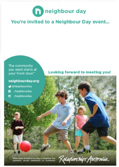 Neighbour-Day-Invitation Kids Soccar-page